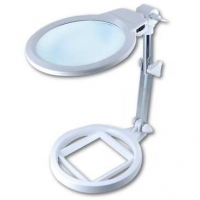 Lampara lupa con luz / LED